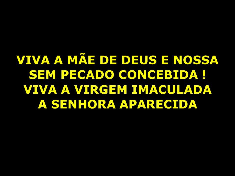 VIVA A MÃE DE DEUS E NOSSA VIVA A VIRGEM IMACULADA