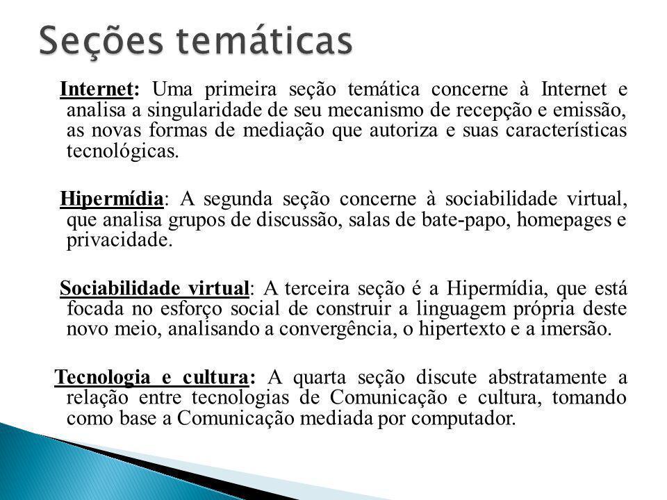 Seções temáticas
