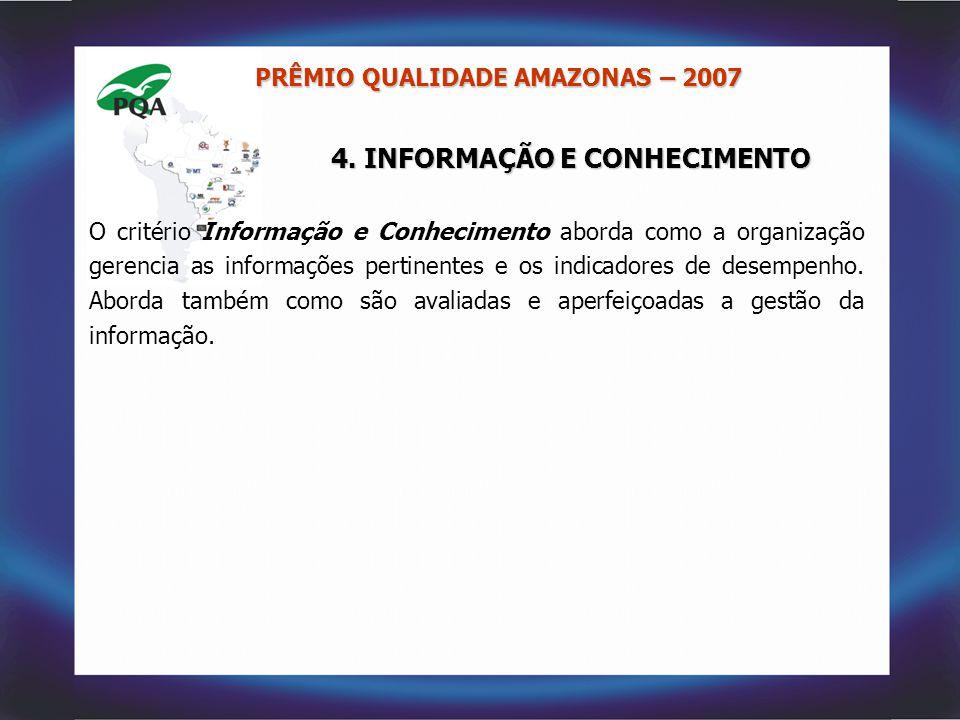 4. INFORMAÇÃO E CONHECIMENTO