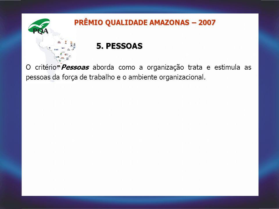 5. PESSOAS PRÊMIO QUALIDADE AMAZONAS – 2007