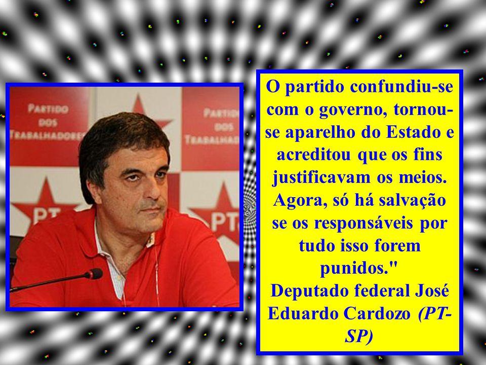 Deputado federal José Eduardo Cardozo (PT-SP)