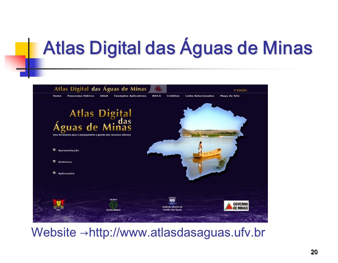 Atlas Digital das Águas de Minas