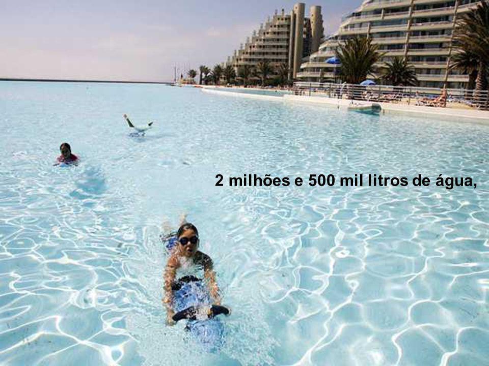 A maior piscina do mundo ppt carregar for Piscina 7 mil litros