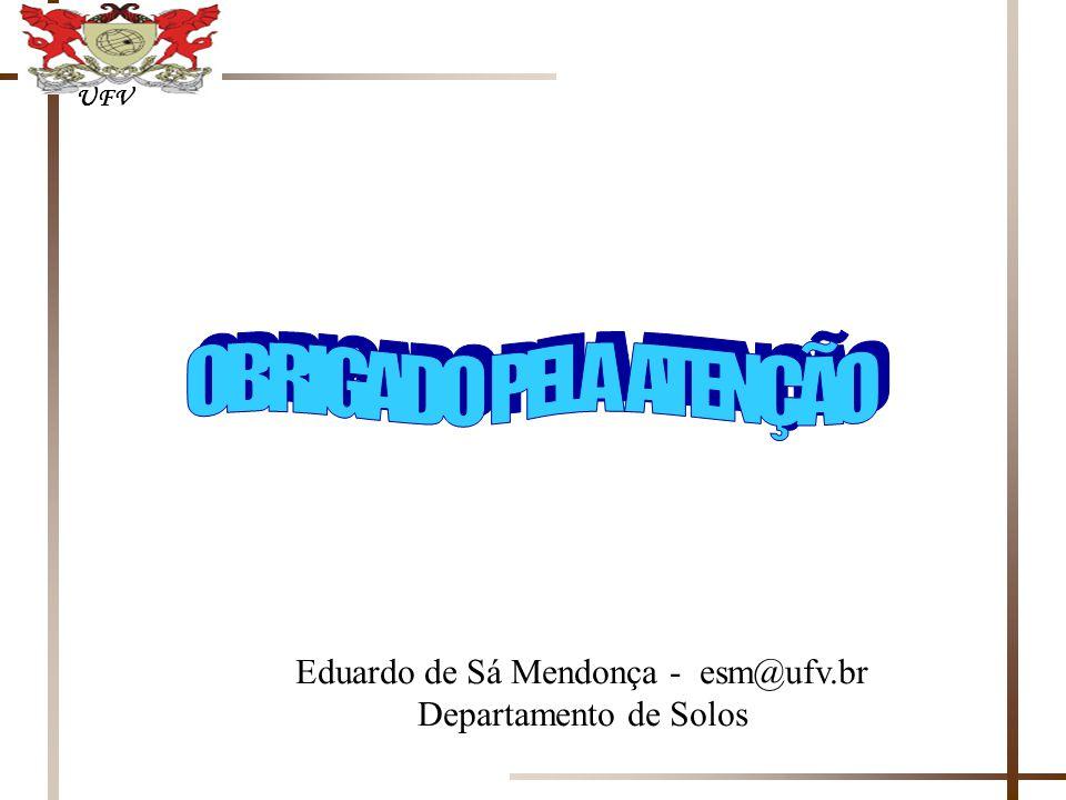 Eduardo de Sá Mendonça - esm@ufv.br