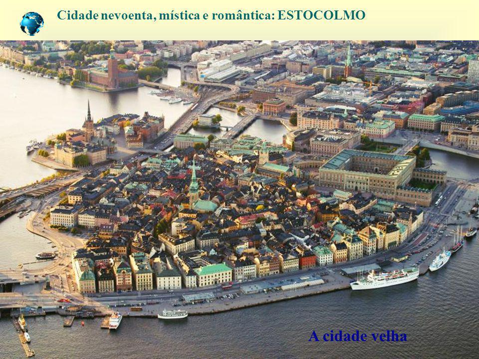 Cidade nevoenta, mística e romântica: ESTOCOLMO