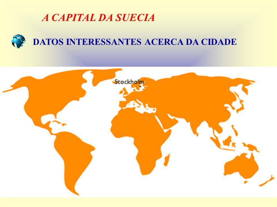 A CAPITAL DA SUECIA DATOS INTERESSANTES ACERCA DA CIDADE