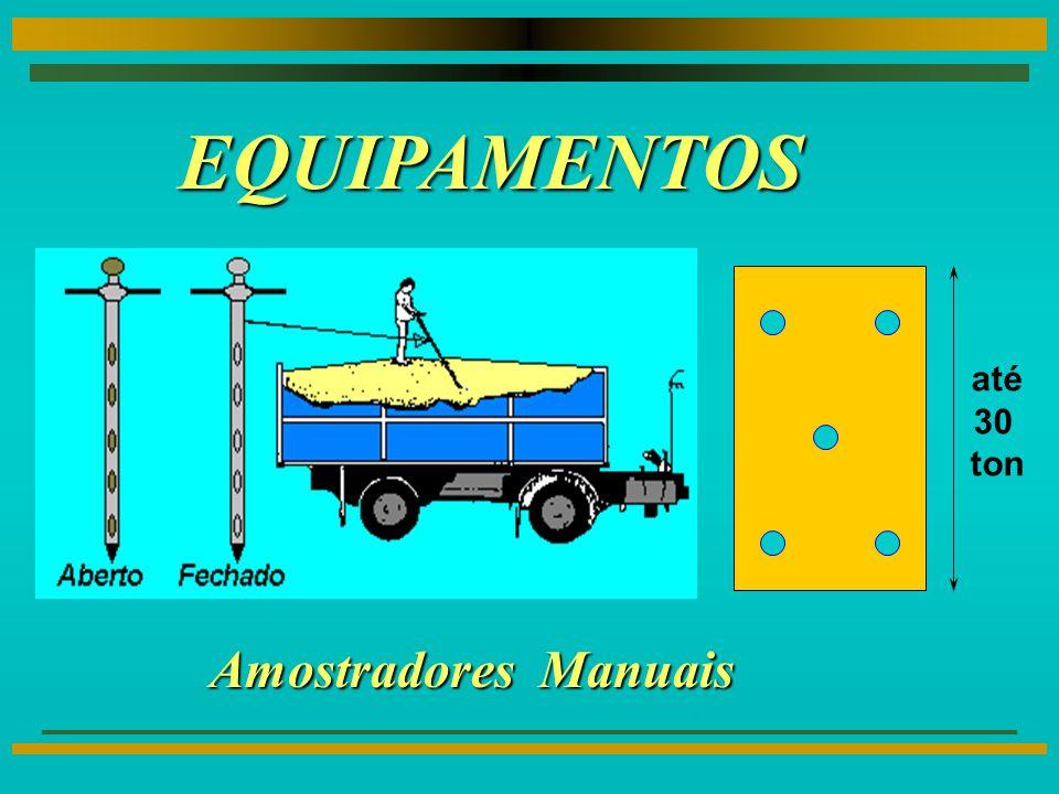 EQUIPAMENTOS até 30 ton Amostradores Manuais