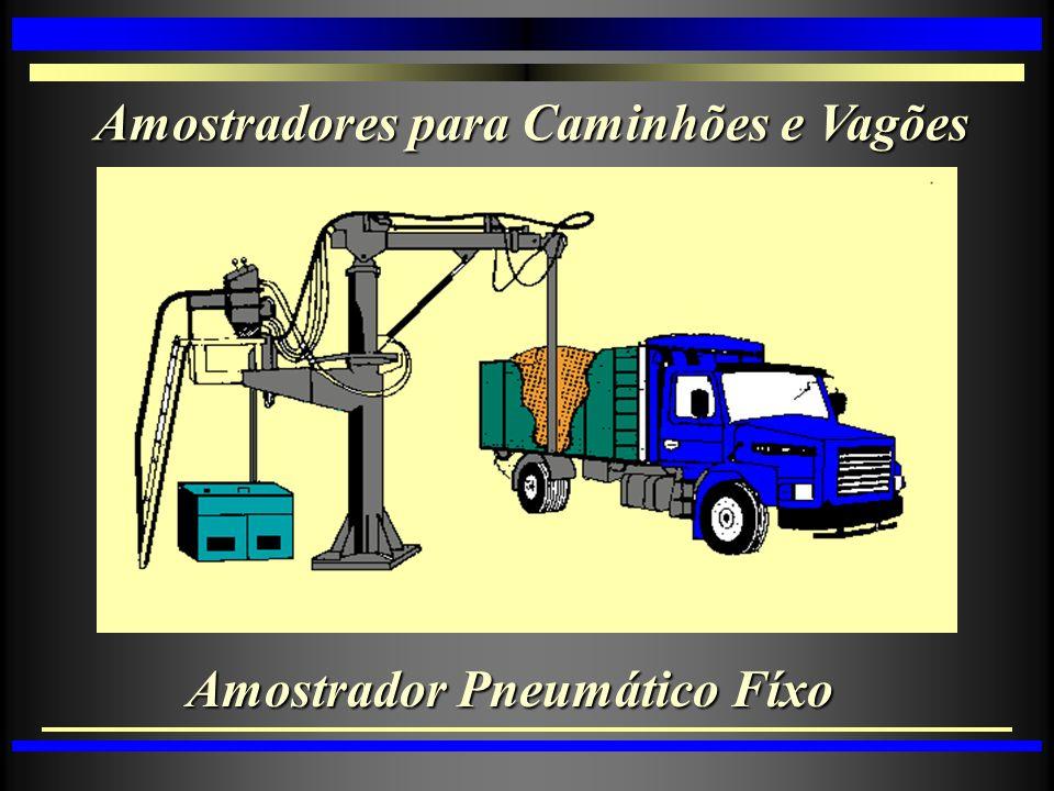 Amostradores para Caminhões e Vagões