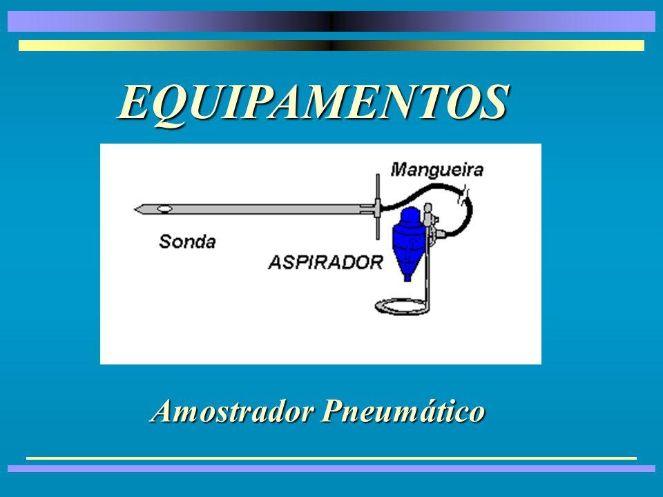 EQUIPAMENTOS Amostrador Pneumático