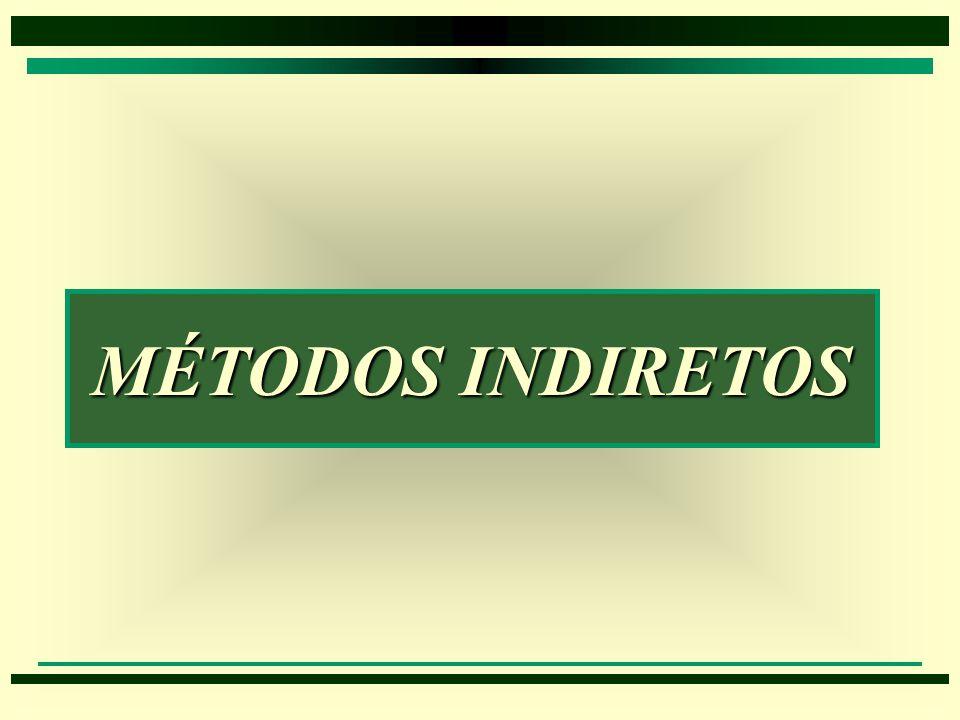 MÉTODOS INDIRETOS