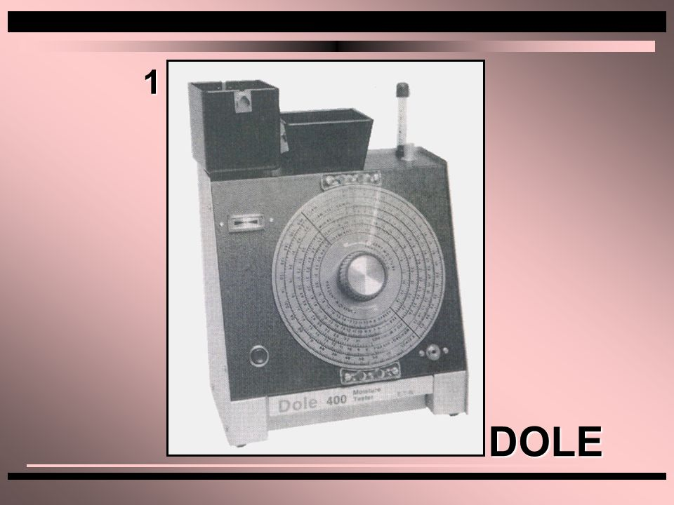 1 DOLE