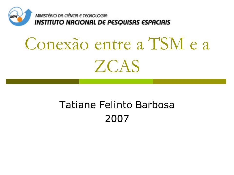 Conexão entre a TSM e a ZCAS