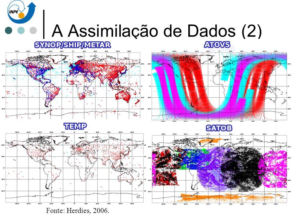 A Assimilação de Dados (2)