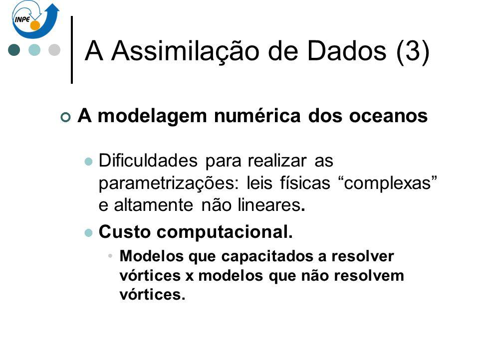 A Assimilação de Dados (3)