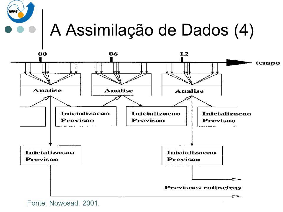 A Assimilação de Dados (4)