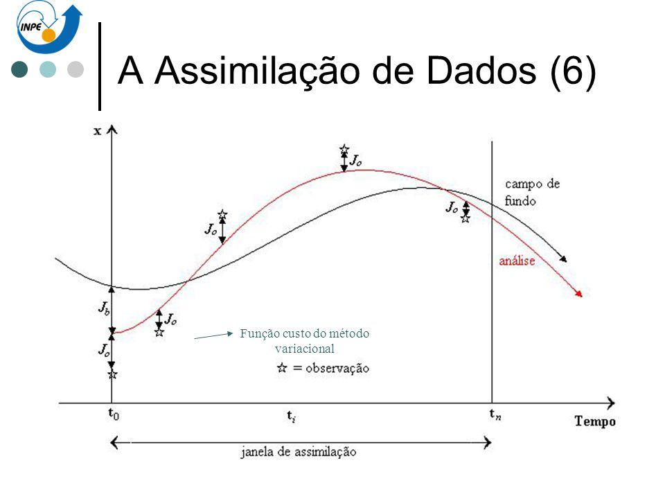 A Assimilação de Dados (6)