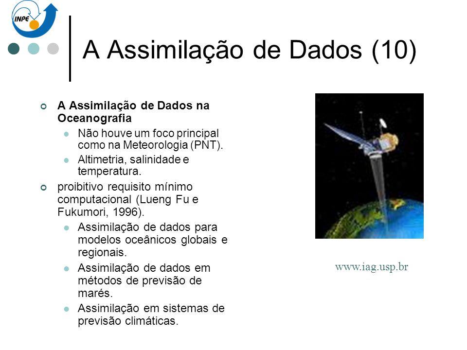 A Assimilação de Dados (10)