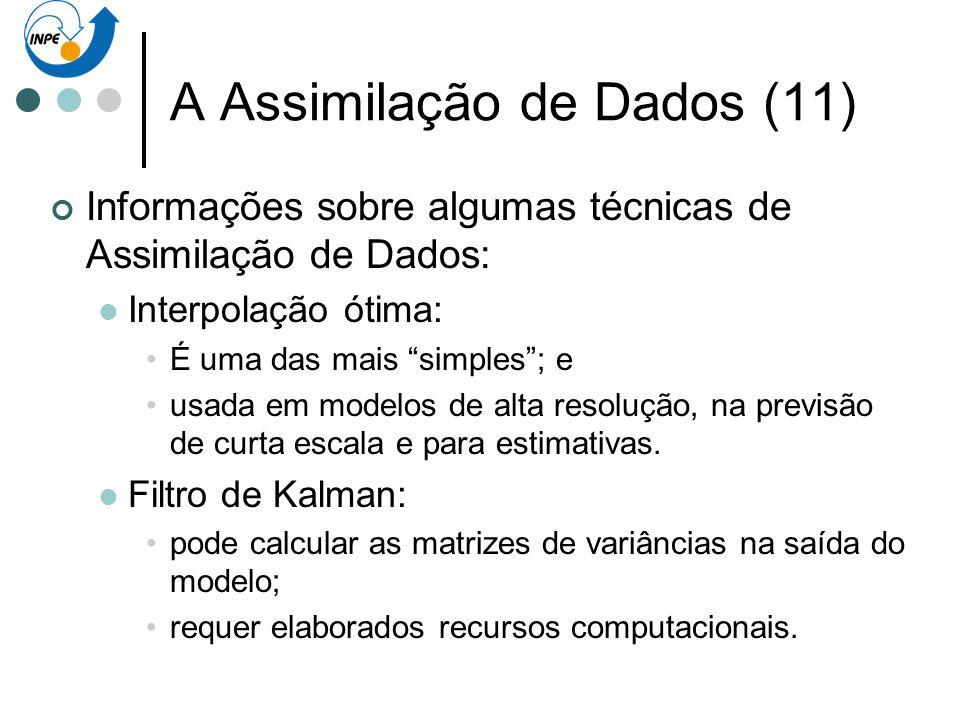 A Assimilação de Dados (11)