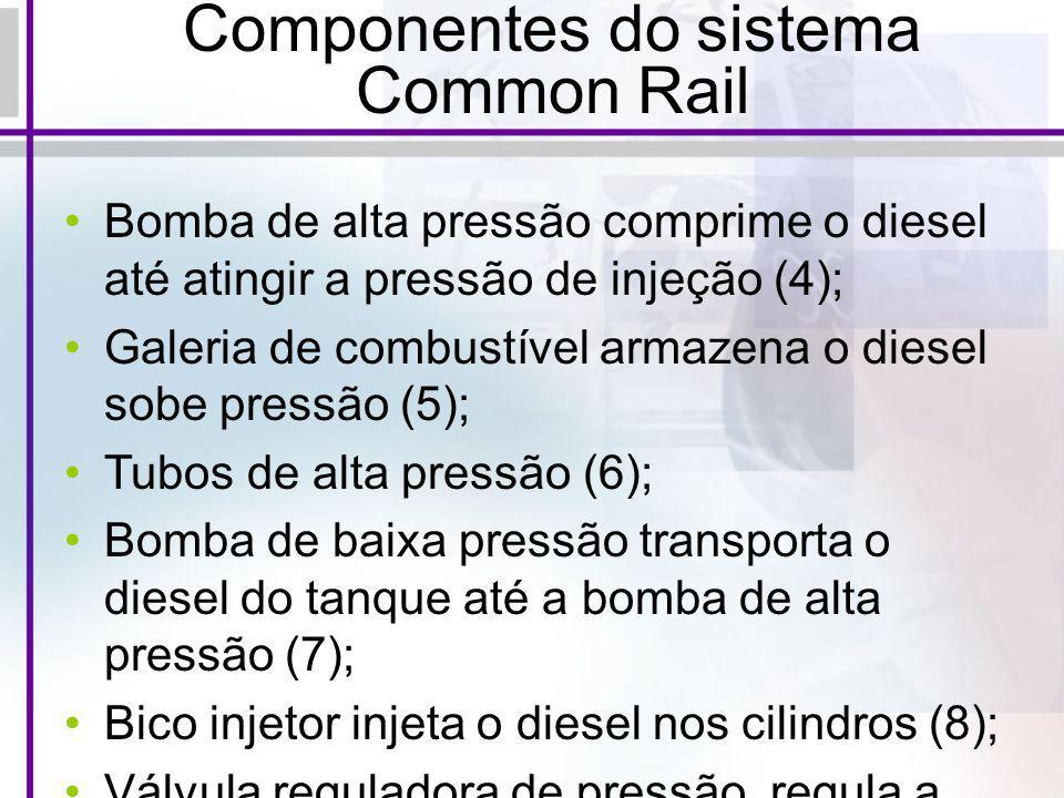 Componentes do sistema Common Rail