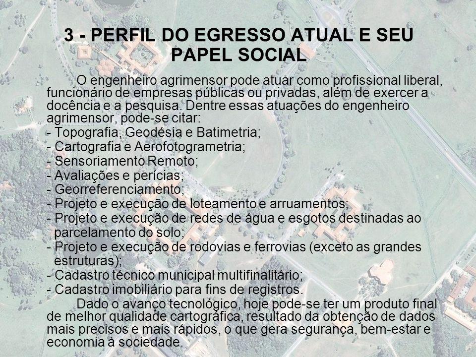3 - PERFIL DO EGRESSO ATUAL E SEU PAPEL SOCIAL