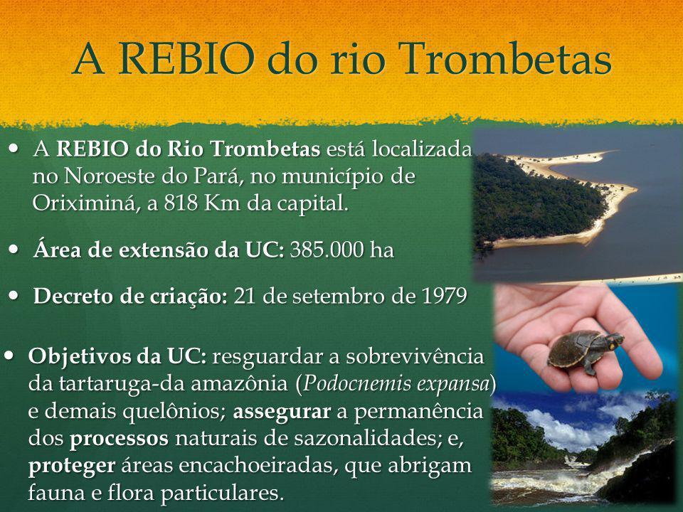 A REBIO do rio Trombetas