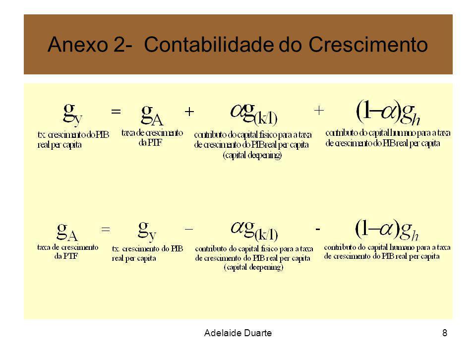 Anexo 2- Contabilidade do Crescimento