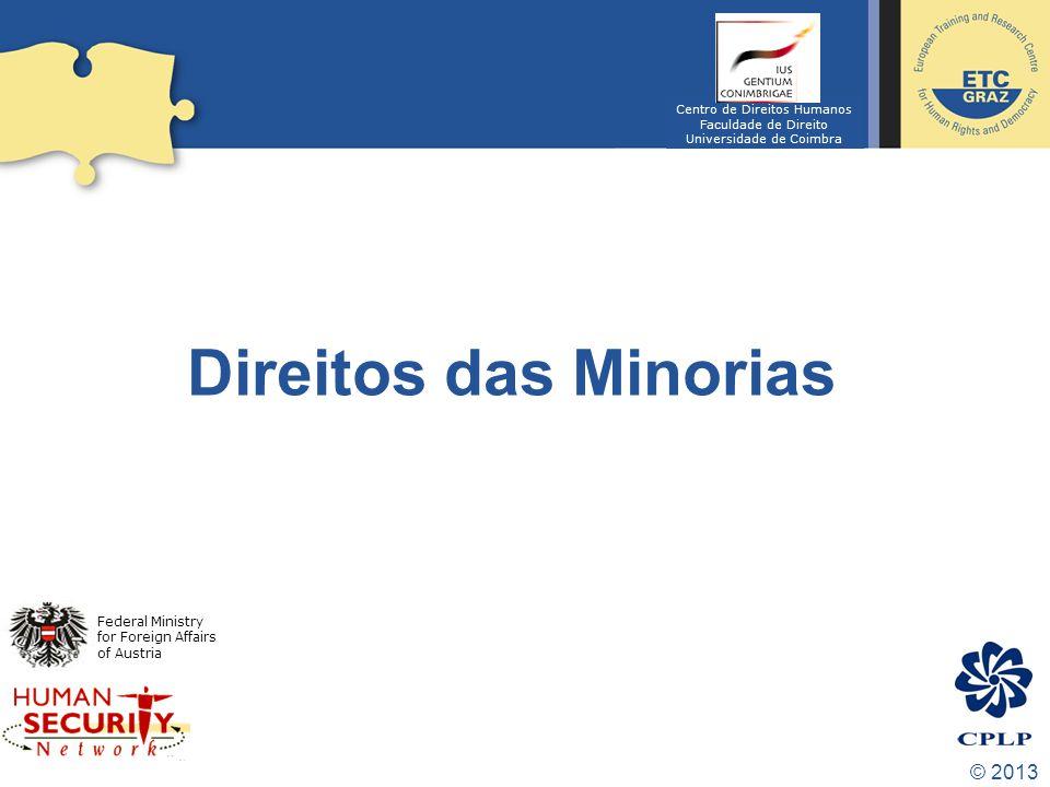 Direitos das Minorias © 2013