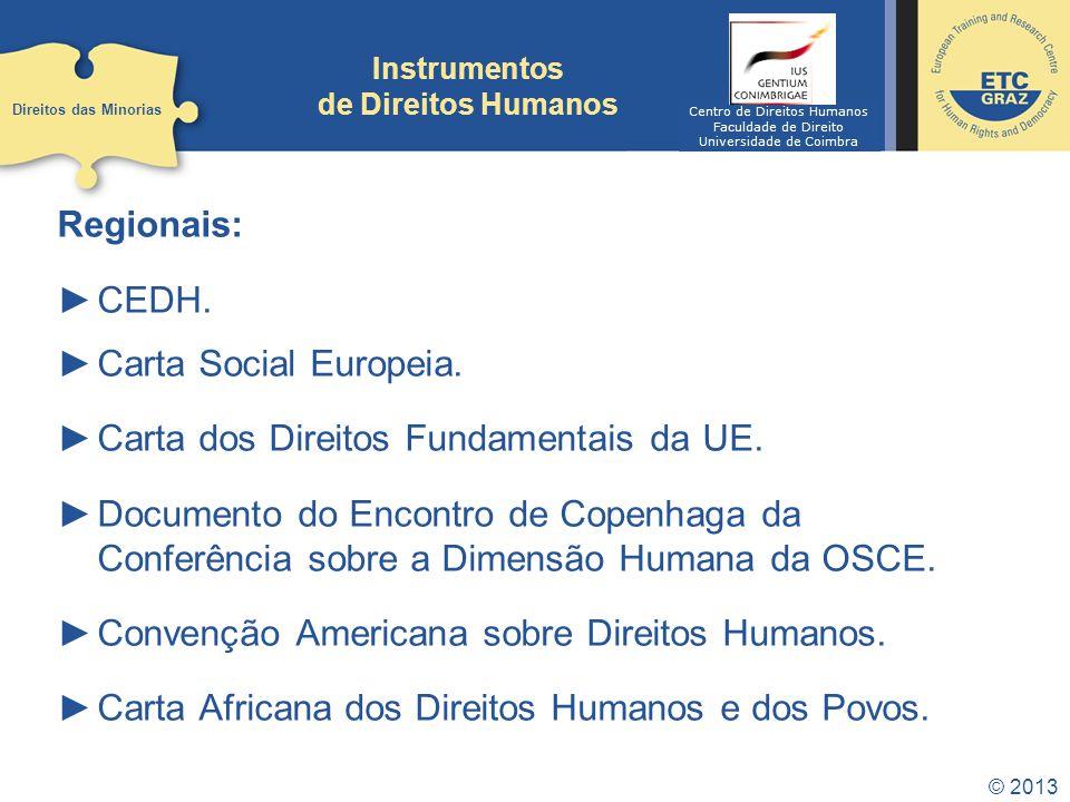 Instrumentos de Direitos Humanos