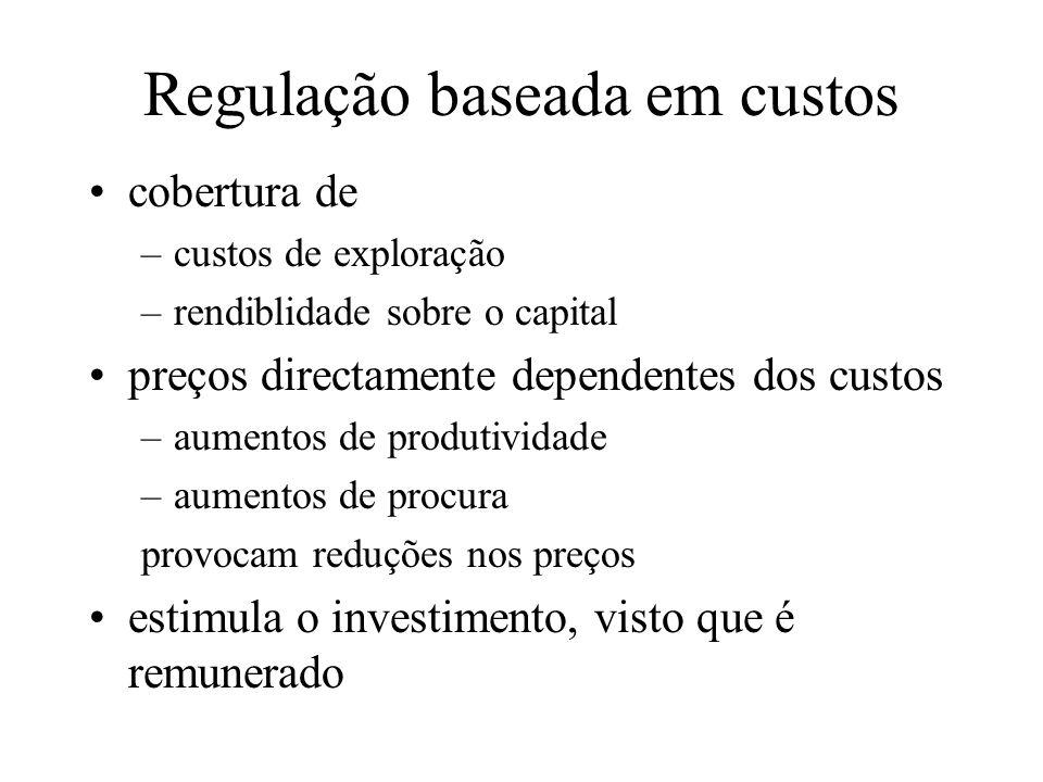 Regulação baseada em custos