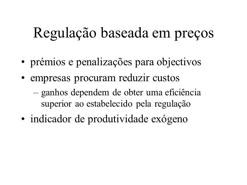 Regulação baseada em preços