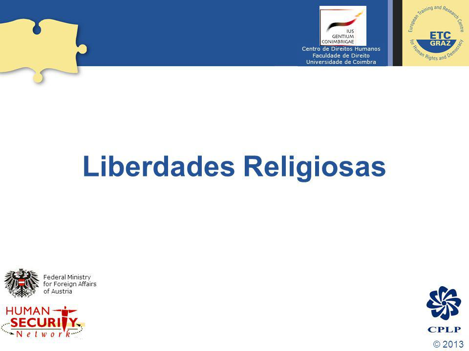 Liberdades Religiosas