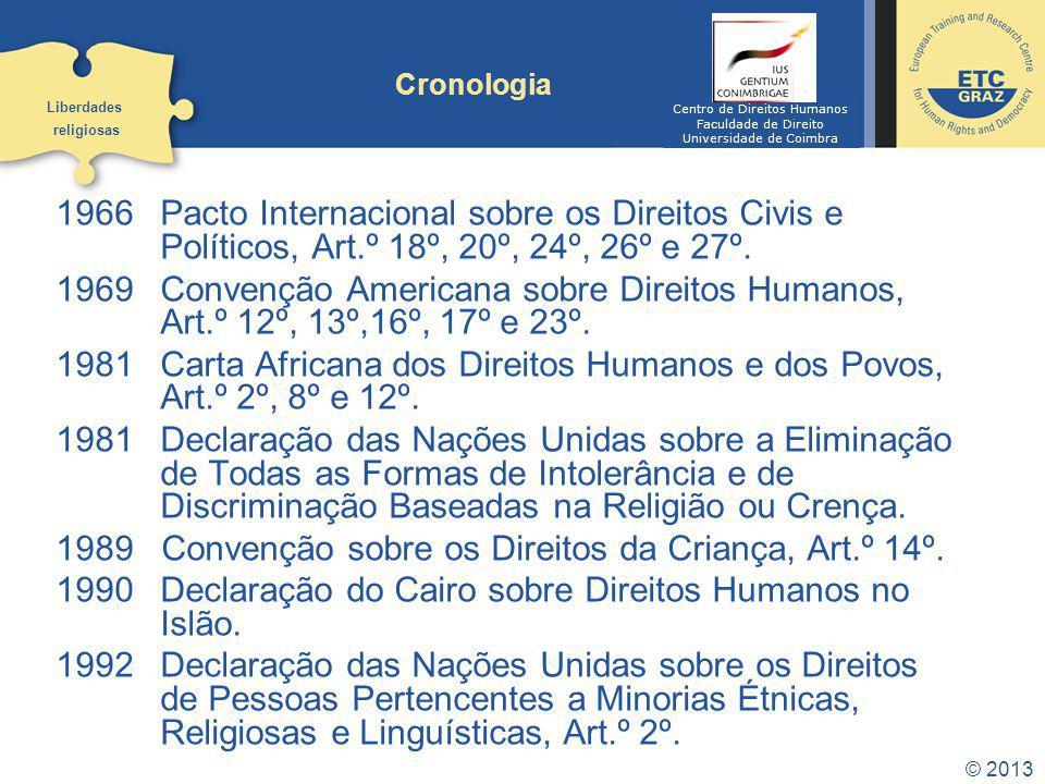 Convenção sobre os Direitos da Criança, Art.º 14º.