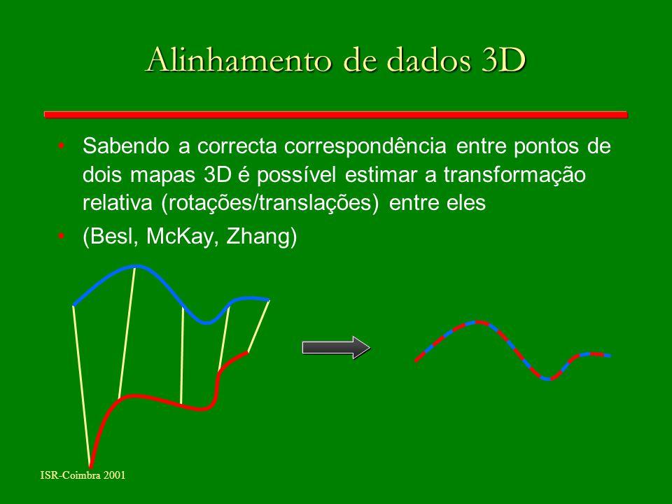 Alinhamento de dados 3D