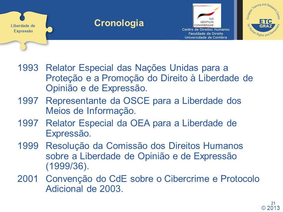 Representante da OSCE para a Liberdade dos Meios de Informação.