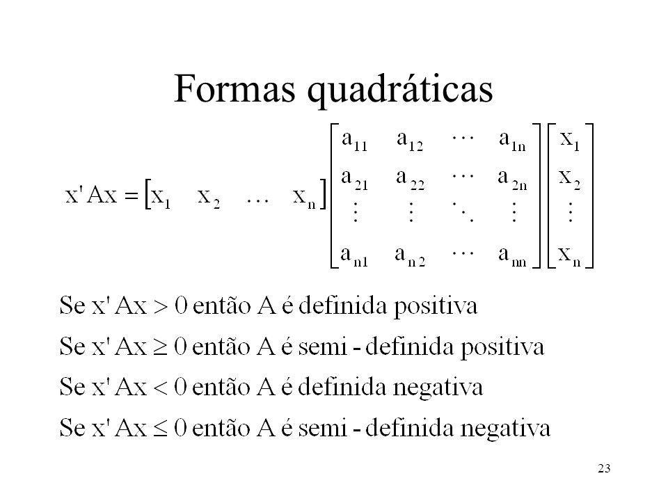 Formas quadráticas