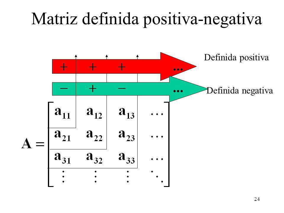 Matriz definida positiva-negativa