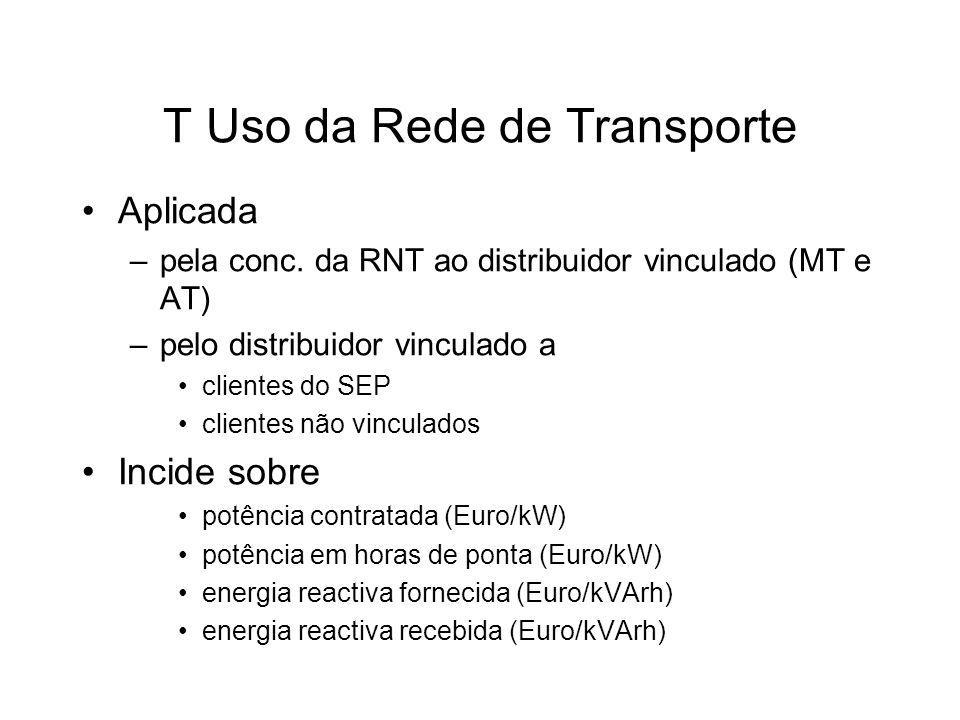 T Uso da Rede de Transporte