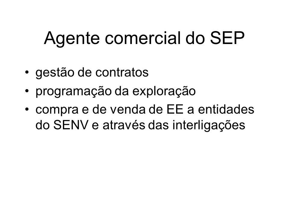 Agente comercial do SEP