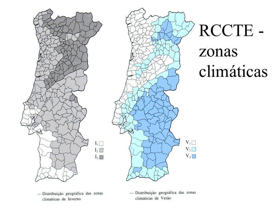 RCCTE - zonas climáticas