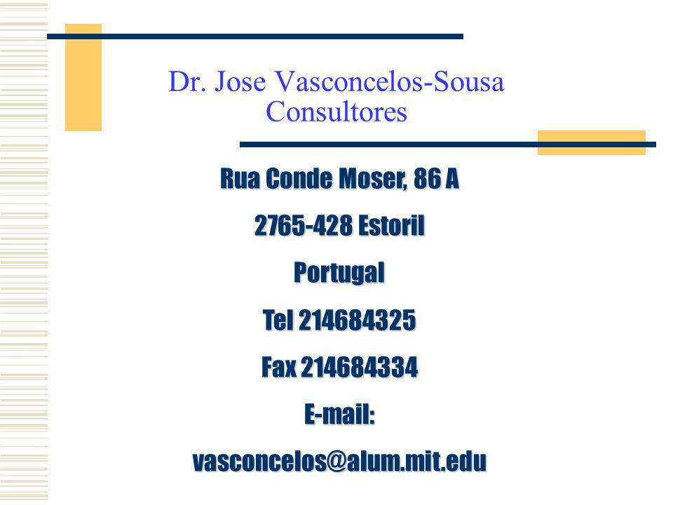 Dr. Jose Vasconcelos-Sousa Consultores