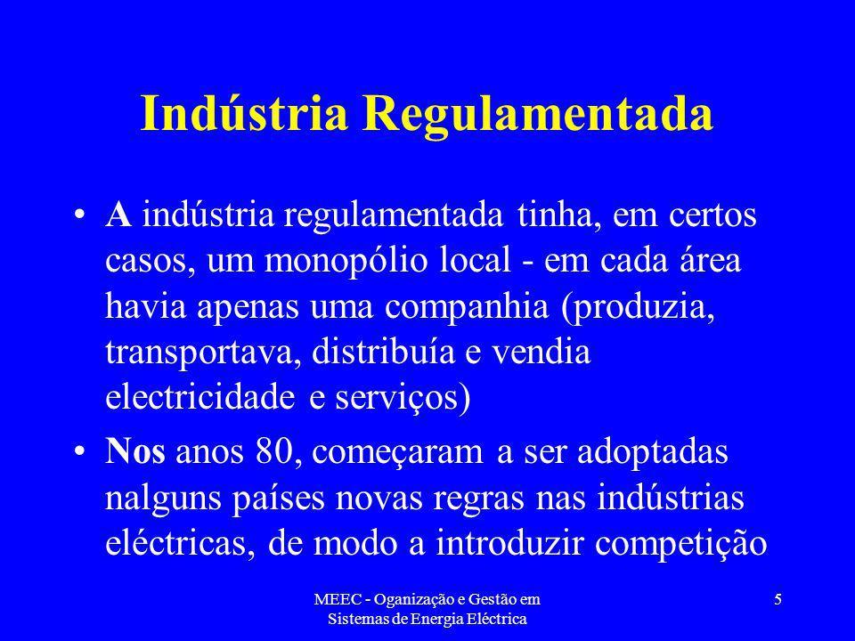 Indústria Regulamentada