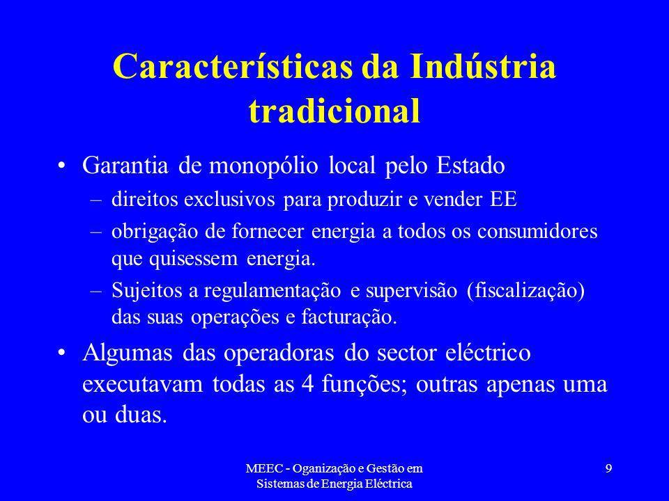 Características da Indústria tradicional