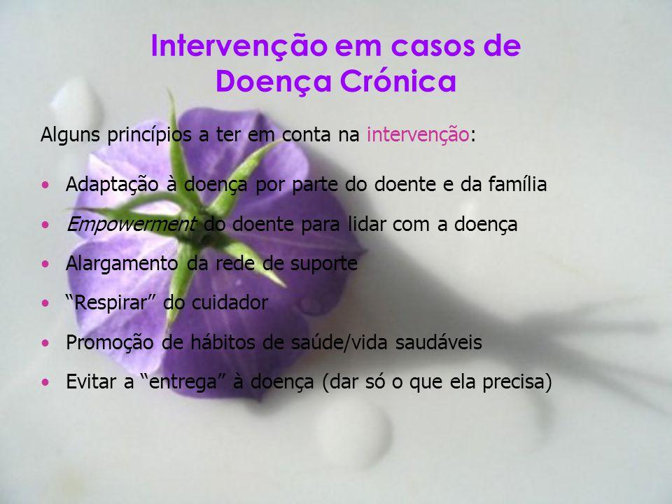 Intervenção em casos de Doença Crónica