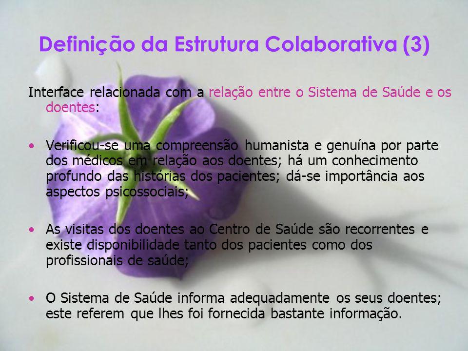 Definição da Estrutura Colaborativa (3)