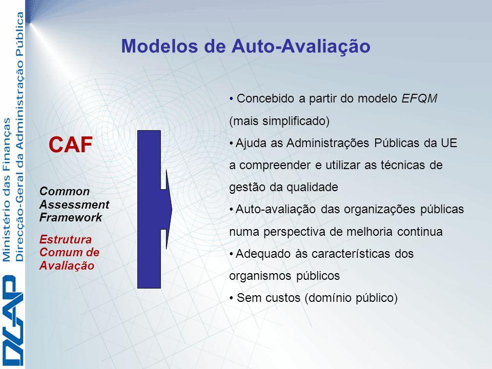 Modelos de Auto-Avaliação