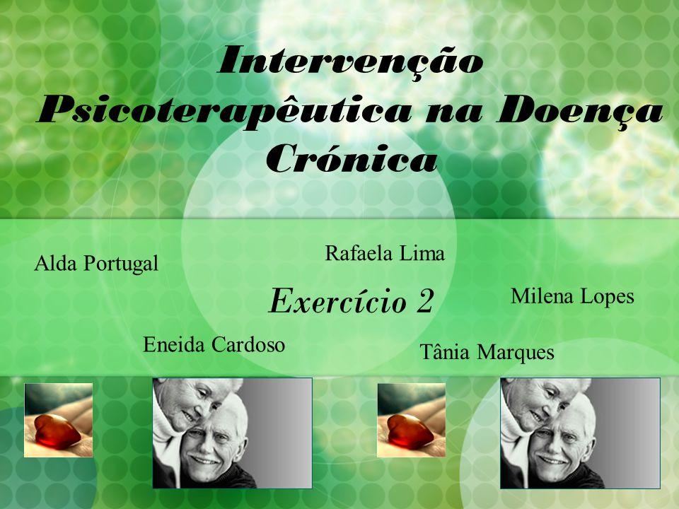 Intervenção Psicoterapêutica na Doença Crónica Exercício 2