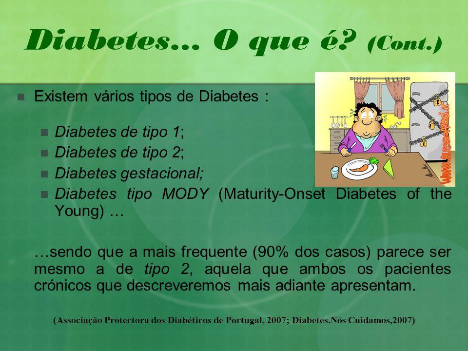 Diabetes… O que é (Cont.)