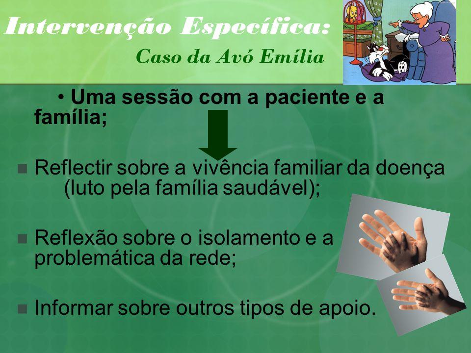 Intervenção Específica: Caso da Avó Emília