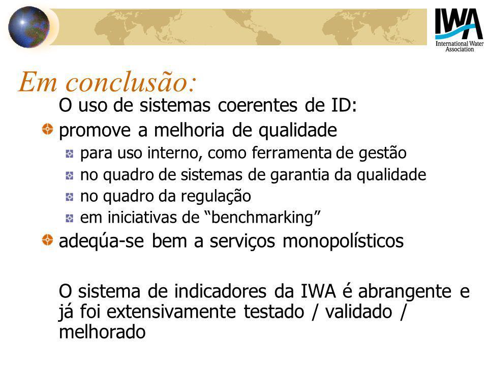 Em conclusão: O uso de sistemas coerentes de ID: