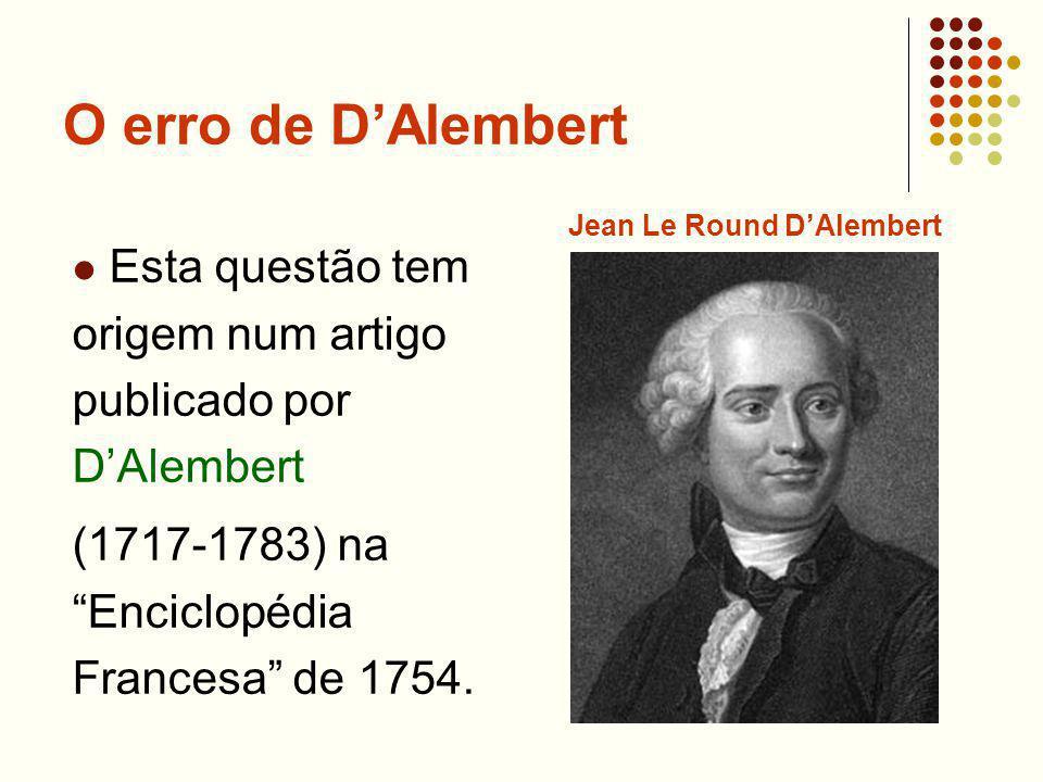 Jean Le Round D'Alembert